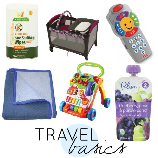 travel, travel basics, travel with baby, travel with children