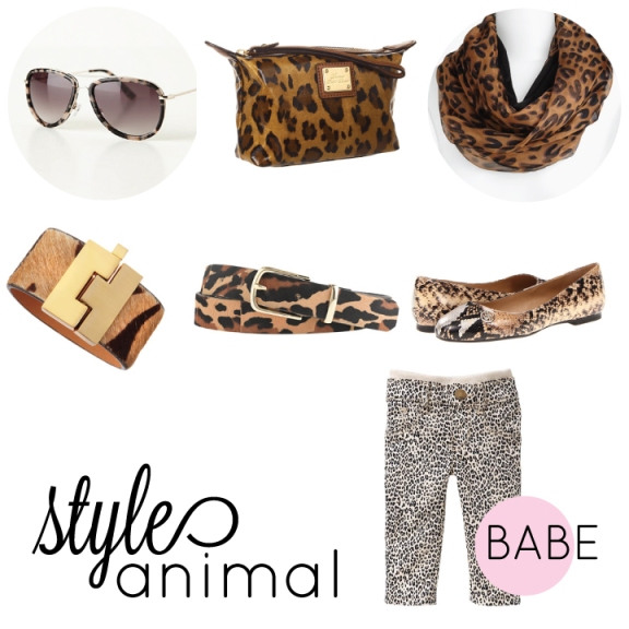 styleanimal, animal print, children animal print, leopard print, handbag, belt, scarf, animal print sunglasses