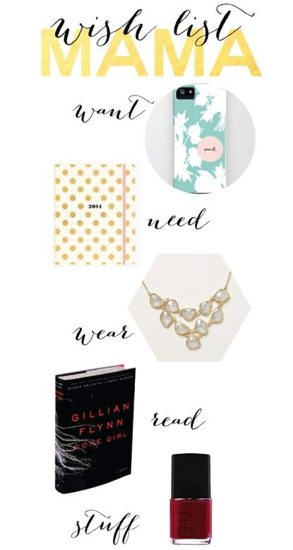 MamaWish, gift guide, women christmas list